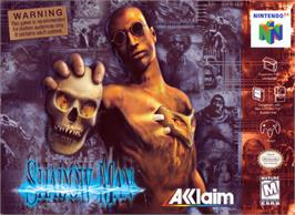 Box cover for Shadow Man on the Nintendo N64.