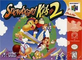 Box cover for Snowboard Kids 2 on the Nintendo N64.