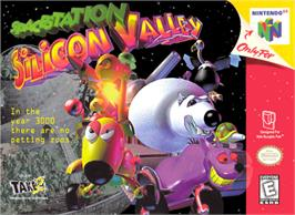 Box cover for Space Station Silicon Valley on the Nintendo N64.