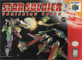 Box cover for Star Soldier: Vanishing Earth on the Nintendo N64.