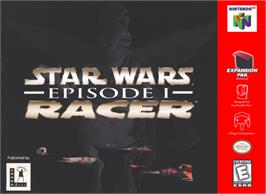 Box cover for Star Wars: Episode I - Racer on the Nintendo N64.