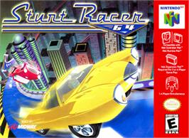 Box cover for Stunt Racer 64 on the Nintendo N64.