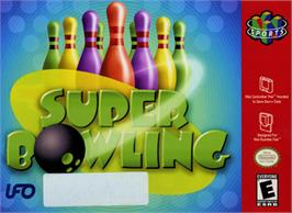 Box cover for Super Bowling on the Nintendo N64.