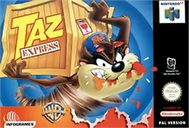 Box cover for Taz Express on the Nintendo N64.