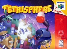 Box cover for Tetrisphere on the Nintendo N64.