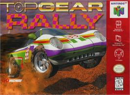 Box cover for Top Gear Rally on the Nintendo N64.