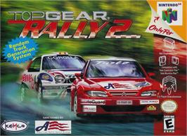 Box cover for Top Gear Rally 2 on the Nintendo N64.