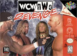 Box cover for WCW/NWO Revenge on the Nintendo N64.