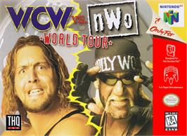 Box cover for WCW vs. NWO: World Tour on the Nintendo N64.
