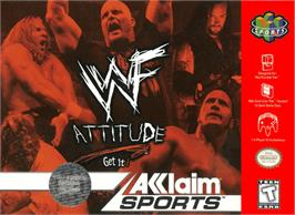 Box cover for WWF Attitude on the Nintendo N64.