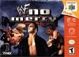 Box cover for WWF No Mercy on the Nintendo N64.