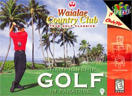 Box cover for Waialae Country Club: True Golf Classics on the Nintendo N64.