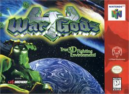 Box cover for War Gods on the Nintendo N64.