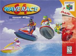 Box cover for Wave Race 64: Shindou Edition on the Nintendo N64.