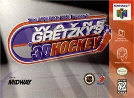 Box cover for Wayne Gretzky's 3D Hockey on the Nintendo N64.