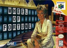 Box cover for Wheel Of Fortune on the Nintendo N64.