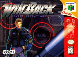 Box cover for WinBack: Covert Operations on the Nintendo N64.