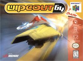 Box cover for Wipeout 64 on the Nintendo N64.