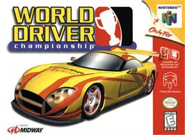 Box cover for World Driver Championship on the Nintendo N64.