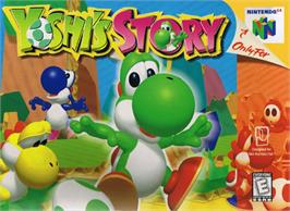 Box cover for Yoshi's Story on the Nintendo N64.