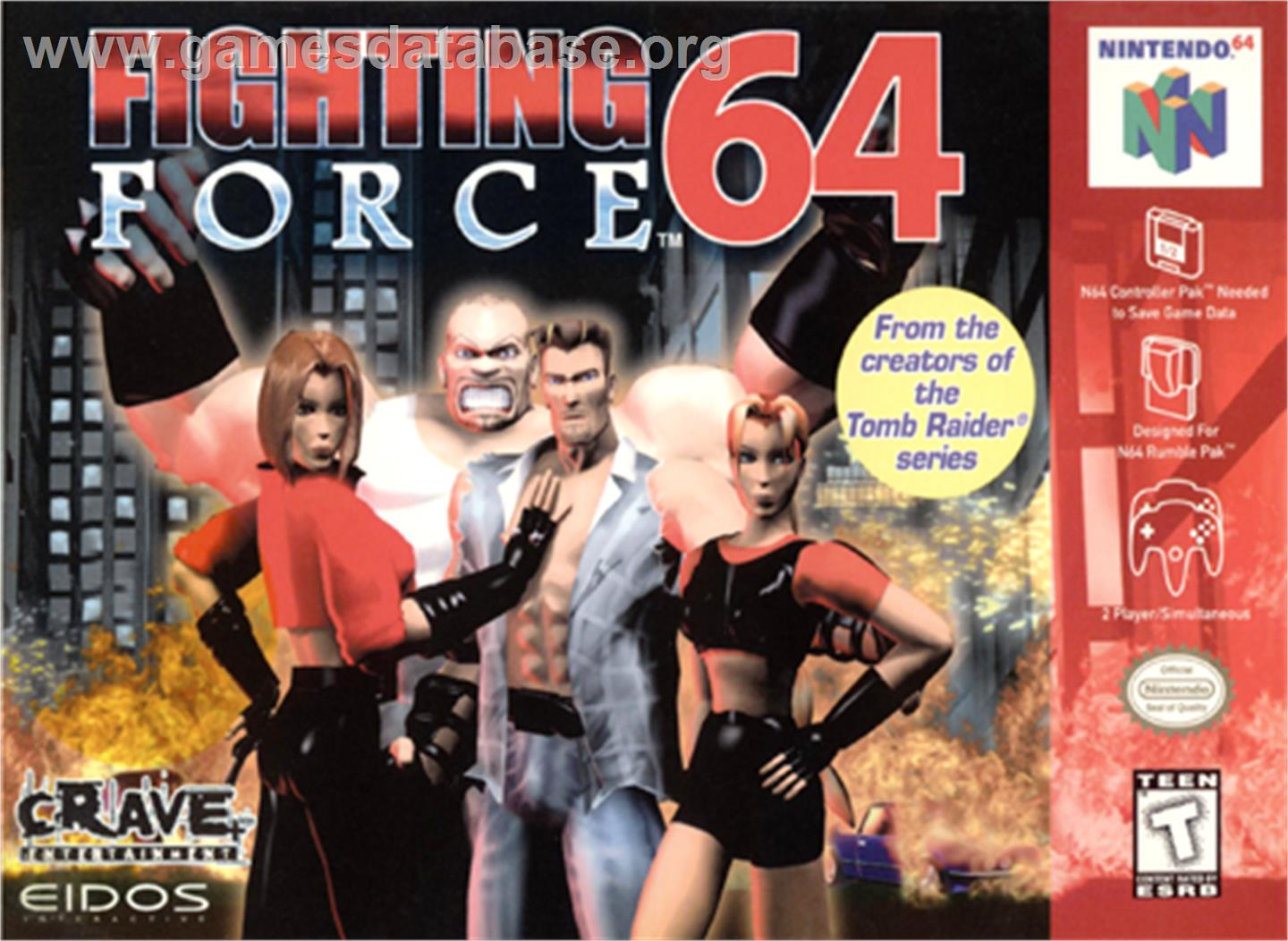 year 1999 tosec fighting force 64 category fighting mame n a game
