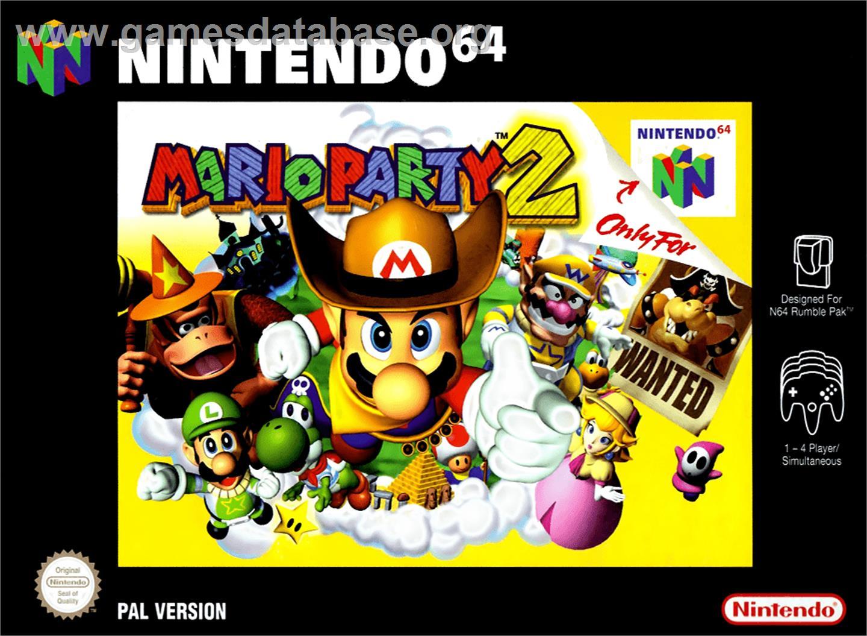 Mario Party 2 Nintendo N64 Games Database