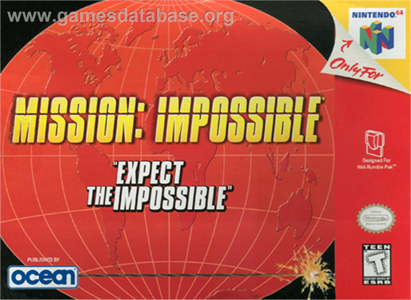 Mission Impossible - Nintendo N64 - Artwork - Box