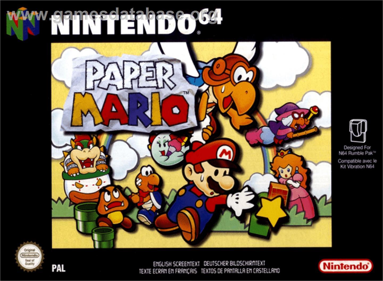 Paper Mario Games