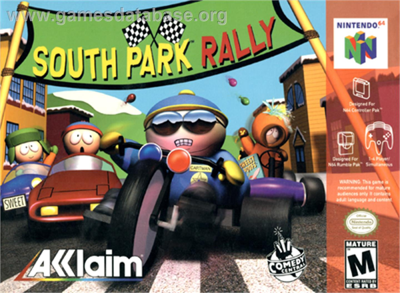 2013 south park rally ingles n64 ul df fs bs categoria nintendo 64