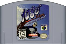 Cartridge artwork for 1080° Snowboarding on the Nintendo N64.