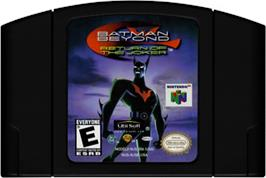 Cartridge artwork for Batman Beyond: Return of the Joker on the Nintendo N64.