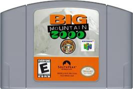 Cartridge artwork for Big Mountain 2000 on the Nintendo N64.