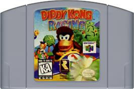 Cartridge artwork for Diddy Kong Racing on the Nintendo N64.