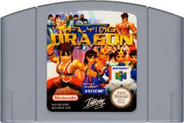 Cartridge artwork for Flying Dragon on the Nintendo N64.
