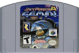 Cartridge artwork for Jet Force Gemini on the Nintendo N64.