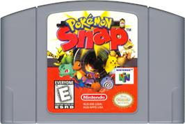 Cartridge artwork for Pokemon Snap on the Nintendo N64.