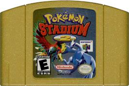Cartridge artwork for Pokemon Stadium 2 on the Nintendo N64.