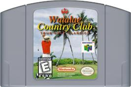 Cartridge artwork for Waialae Country Club: True Golf Classics on the Nintendo N64.