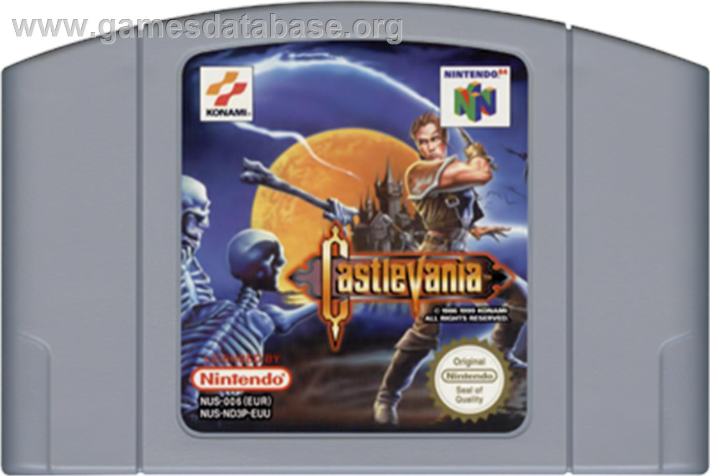 artwork for Castlevania: Legacy of Darkness on the Nintendo N64