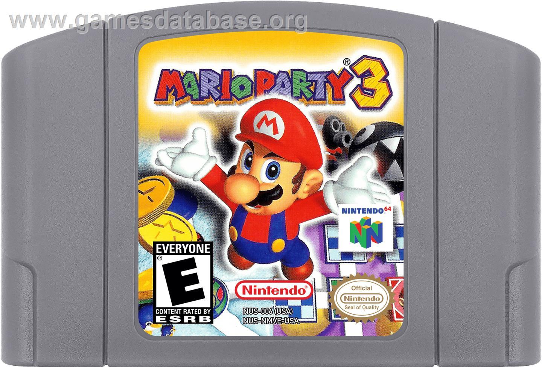 Mario Party 3 Box Shots and Screenshots for Nintendo 64 ...