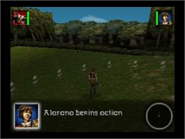 In game image of Aidyn Chronicles: The First Mage on the Nintendo N64.