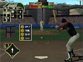 In game image of All-Star Baseball 2000 on the Nintendo N64.