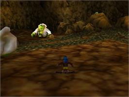 In game image of Banjo-Tooie on the Nintendo N64.