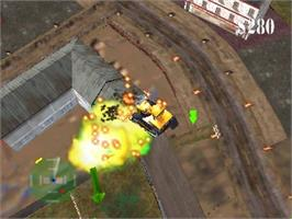 In game image of Blast Dozer on the Nintendo N64.