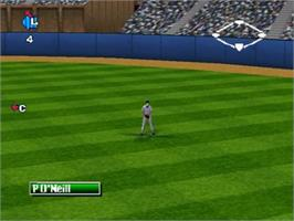 In game image of Bottom of the Ninth on the Nintendo N64.