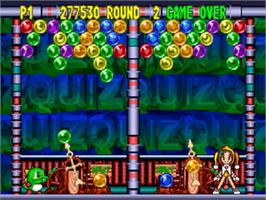 In game image of Bust a Move '99 on the Nintendo N64.