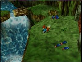 In game image of Conker's Bad Fur Day on the Nintendo N64.