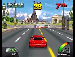 In game image of Cruis'n World on the Nintendo N64.