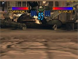 In game image of Dark Rift on the Nintendo N64.