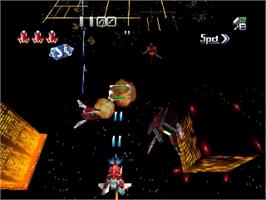 In game image of Dezaemon 3D on the Nintendo N64.